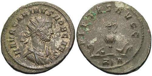 Антониниан Римская империя (27BC-395) Бронза Карин (257-285)