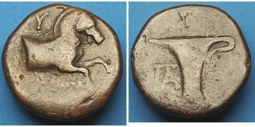 AE1 Grèce antique (1100BC-330) Bronze