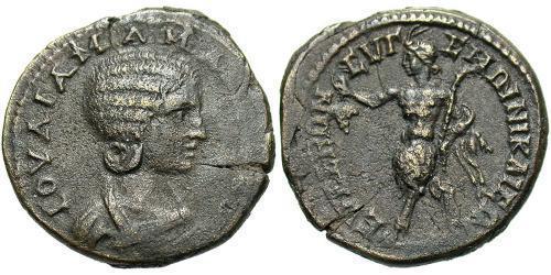 AE_ Roman Empire (27BC-395) Bronze Julia Avita Mamaea (180-235)