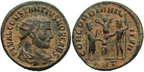 AE_ Roman Empire (27BC-395) Bronze Constantine I (272 - 337)