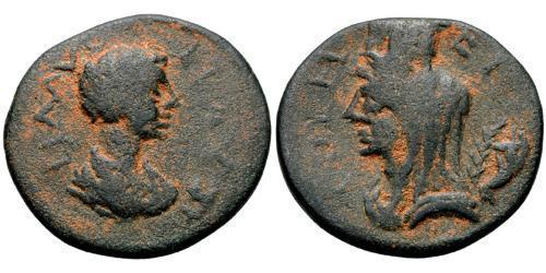 AE_ Roman Empire (27BC-395) Bronze Fulvia Plautilla (189-212)