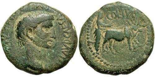 AE_ Roman Empire (27BC-395) Bronze Claudius I (10BC-54)