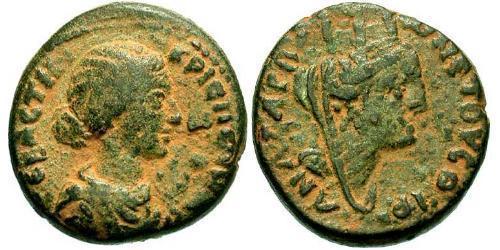 AE_ Roman Empire (27BC-395) Bronze Bruttia Crispina (164-187)