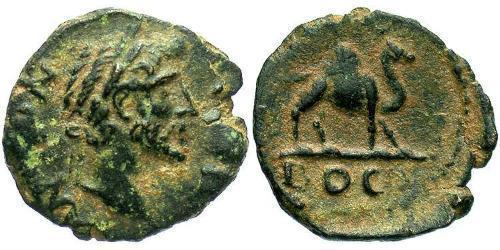 AE_ Roman Empire (27BC-395) Bronze Antoninus Pius  (86-161)