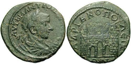 AE_ Roman Empire (27BC-395) Bronze Gordian III (225-244)