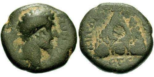 AE_ Roman Empire (27BC-395) Bronze Lucius Verus (130-169)
