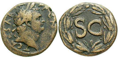 AE_ Roman Empire (27BC-395) Orichalcum Titus (39-81)