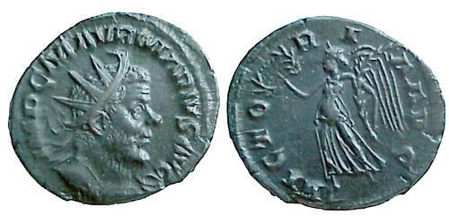 Antoninianus Gallic Empire (260-274) Billon Marcus Aurelius Marius (?-269)