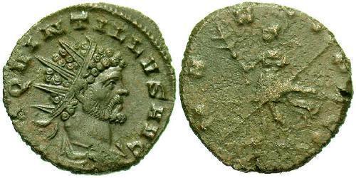 Antoninianus Roman Empire (27BC-395) Bronze Quintillus (220-270)
