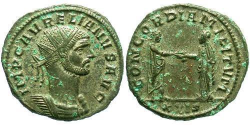 Antoninianus Roman Empire (27BC-395) Bronze Aurelian (215-275)