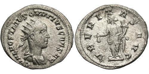 Antoninianus Roman Empire (27BC-395) Silver Hostilian (230-251)