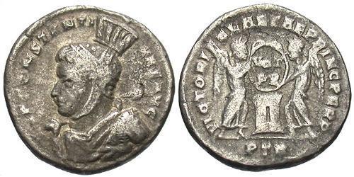 Argenteus Roman Empire (27BC-395) Silver Constantine I (272 - 337)