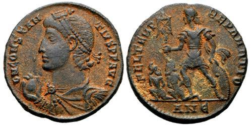 Centenionalis Roman Empire (27BC-395) Bronze Constantius II (317 - 361)