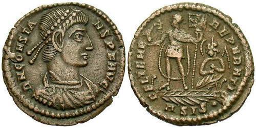Centenionalis Roman Empire (27BC-395) Bronze Constans I (320-350)
