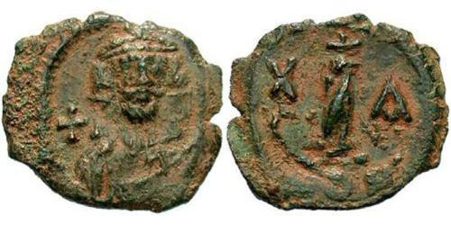 Decanummium Byzantine Empire (330-1453) Bronze Constans II (630-668)