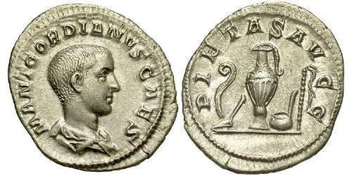 Denarius Roman Empire (27BC-395) Silver Gordian III (225-244)