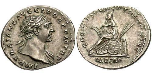 Denarius Roman Empire (27BC-395) Silver Trajan (53-117)