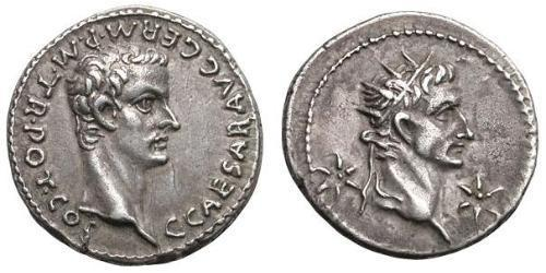 Denier Empire romain (27BC-395) Argent Caligula (12-41)