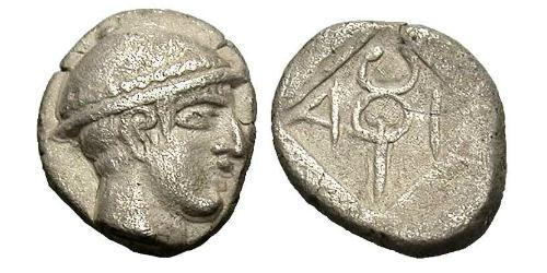 Diobol Ancient Greece (1100BC-330) Silver