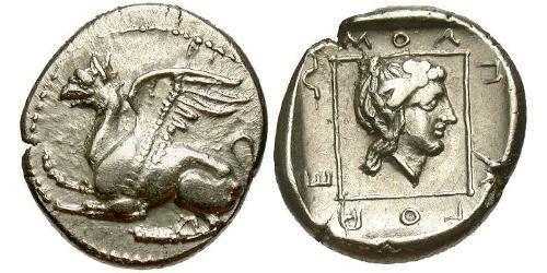Drachm Ancient Greece (1100BC-330) Silver