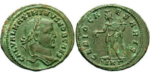 Follis Roman Empire (27BC-395) Bronze Maximinus II (270 - 313)