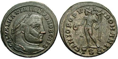 Follis Roman Empire (27BC-395) Bronze Galerius Maximianus (260-311)