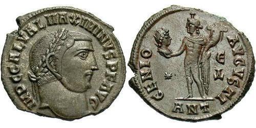 Follis Roman Empire (27BC-395) Bronze Maximinus II (270 - 313)