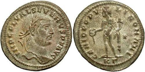 Follis Western Roman Empire (285-476) Bronze Severus II (?- 307)