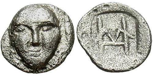 Hemiobol Ancient Greece (1100BC-330) Silver