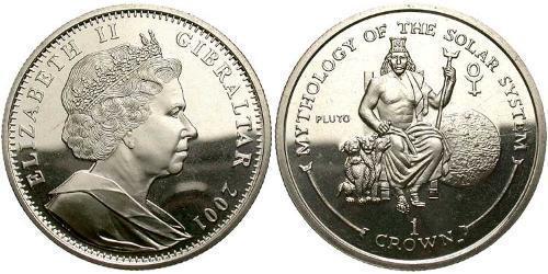 Krone Gibraltar  Elizabeth II (1926-)