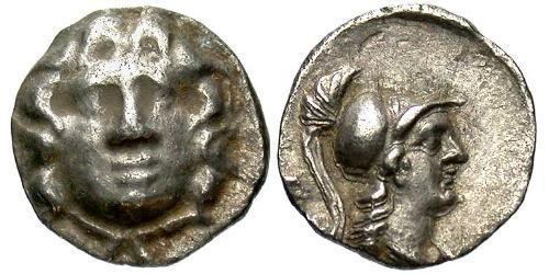 Obol Ancient Greece (1100BC-330) Silver