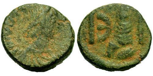 Pentanummium Byzantine Empire (330-1453) Bronze Justinian I (482-565)