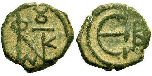 Pentanummium Byzantine Empire (330-1453) Bronze Justin II (520-578)