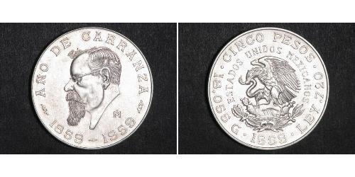 Peso Mexiko Silber
