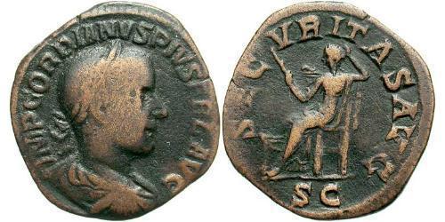 Sestertius Roman Empire (27BC-395) Brass Gordian III (225-244)
