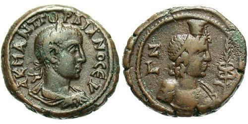 Tetradrachm Roman Empire (27BC-395)  Gordian III (225-244)