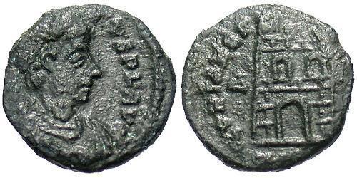 Tremissis  Roman Empire (27BC-395) Bronze Theodosius I (347-395)