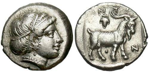 Trihemiobol Ancient Greece (1100BC-330) Silver