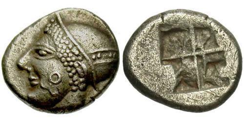 Trihemiobol Ancient Greece (1100BC-330) Silver