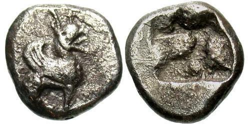 Triobol Ancient Greece (1100BC-330) Silver