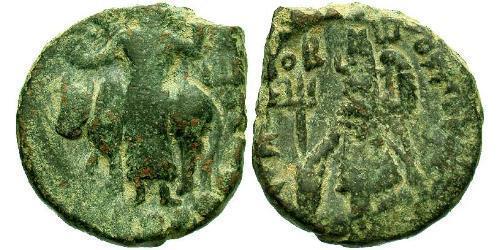 Kushan Empire (60-375) Bronze Vasudeva I