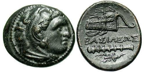 Macedonian Kingdom (800BC-146BC) Bronze Alexander III of Macedon (356BC-323BC)