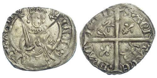 Kingdom of England (927-1649,1660-1707) Silver Richard II (1367-1400)