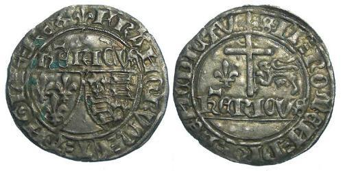 Kingdom of France (843-1791) Silver Henry VI (1421-1471)