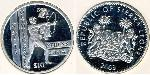 10 Dollar Sierra Leone Silver