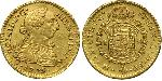 1 Escudo Spanish Mexico  / Kingdom of New Spain (1519 - 1821) Gold Charles III of Spain (1716 -1788)