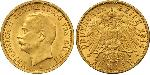 20 Mark Grand Duchy of Baden (1806-1918) Gold Frederick II, Grand Duke of Baden (1857 - 1928)
