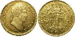 2 Escudo Guatemala Gold Ferdinand VII of Spain (1784-1833)