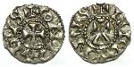 1 Dinar Kingdom of France (843-1791) Silver Conrad the Peaceful (925-993)