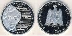 10 Mark Alemania (1990 - ) Plata